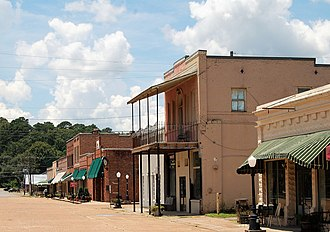 National Register of Historic Places listings in Caldwell Parish, Louisiana - Image: Columbia District 2
