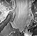 Columbia Glacier, Terentiev Lake, Calving Terminus and Calving Distributary, July 30, 1978 (GLACIERS 1116).jpg
