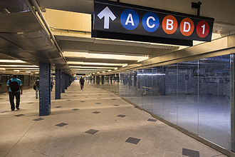 59th Street–Columbus Circle (New York City Subway) - Newly rehabilitated retail space