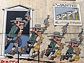 Comic Wall Lucky Luke, Morris. Brussels.jpg