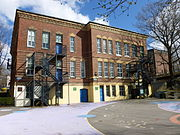 Community Academy in Jamaica Plain, Boston; west side.JPG