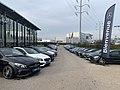 Concession Mercedes-Benz (Saint-Fons), parking, janvier 2020.jpg