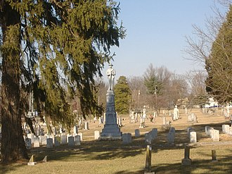Confederate Monument of Bardstown - Image: Confederate Monument of Bardstown closer
