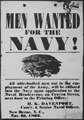Confederate naval recruiting poster, issued at New Berne, North Carolina, 1863., ca. 1960 - ca. 1966 - NARA - 516344.tif