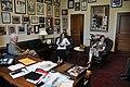 Congressman George Miller meets with Courtney von Savoye and her family (7410204098).jpg