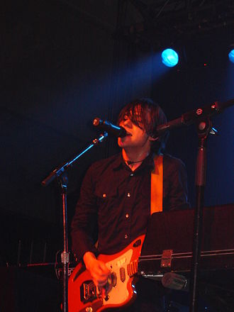 Conor Oberst - Conor Oberst performing in 2005 with Bright Eyes at Schlachthof, in Wiesbaden, Germany