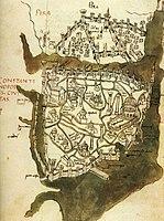 Constantinopolis civitas - Buondelmonti Cristoforo - 1420.jpg