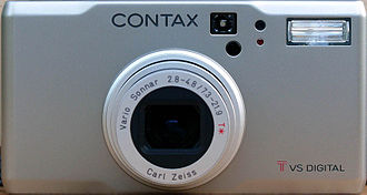 Contax - Contax TVS Digital with Zeiss Vario-Sonnar 2.8–4.8 – the last camera with the brand CONTAX