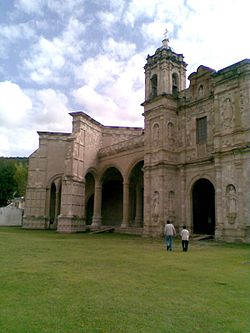 The Church and Former Convento of San Pedro y San Pablo, in San Juan Teposcolula