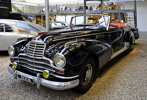 Converted Mercedes-Benz 770, National Technical Museum in Prague.JPG