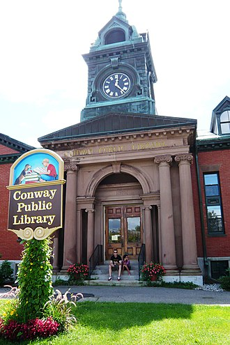 Conway, New Hampshire - Library in Conway, New Hampshire