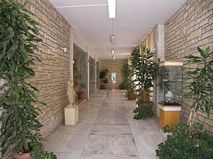 Archaeological Museum of Corfu - Image: Corfu Archaelogical Museum Entrance Hall