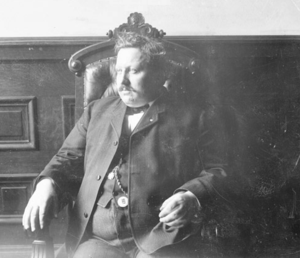 International Brotherhood of Teamsters - Cornelius Shea, first General President of the Teamsters, circa 1905