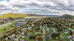 Corning, New York.