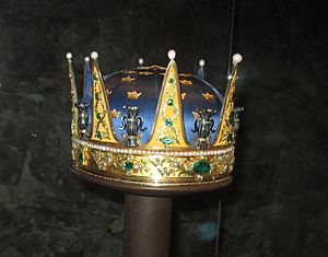 Prince Frederick Adolf of Sweden - Coronet created for Prince Frederick Adolf and worn at his brother Gustav's coronation in 1772.