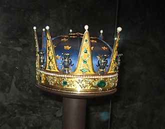 Prince Frederick Adolf, Duke of Östergötland - Coronet created for Prince Frederick Adolf and worn at his brother Gustav's coronation in 1772.