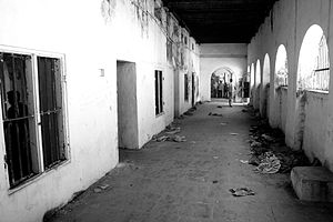 Madras Central Prison - Abandoned corridors of the Madras Central Prison pictured in 2009