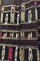 Costume, Thai, Thanh Hoa, 1977, view 4, cotton, ikat, patterns woven with extra threads and silk embroidery - Vietnamese Women's Museum - Hanoi, Vietnam - DSC03923.JPG