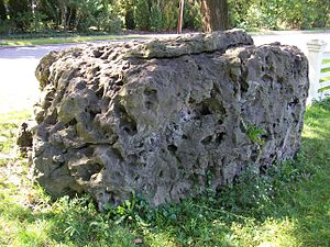 Brighton, Monroe County, New York - Council Rock, on East Avenue in Brighton, formerly used by the Seneca