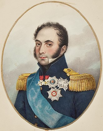 Auguste, comte de La Ferronays - Image: Count de la Ferronnays by Brian Searby (Middleton Album)
