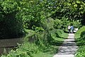 Couple walking along the canal - geograph.org.uk - 1323078.jpg