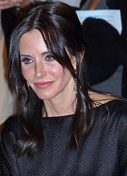 Courteney Cox i mars 2010