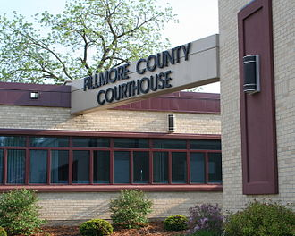 Fillmore County, Minnesota - Image: Courthouse Fillmore County Minnesota