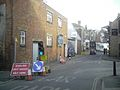 Cowes Cross Street road works.JPG