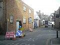 Cowes Cross Street road works.JPG