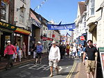 Cowes High Street during Cowes Week 2011 3.JPG