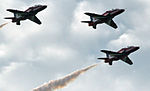 Cowes Week 2013 Red Arrows display 4.jpg