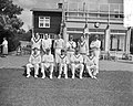 Cricket Nederlands Bondselftal tegen Free Foresters Amstelveen Elftal Free Fore, Bestanddeelnr 907-9480.jpg