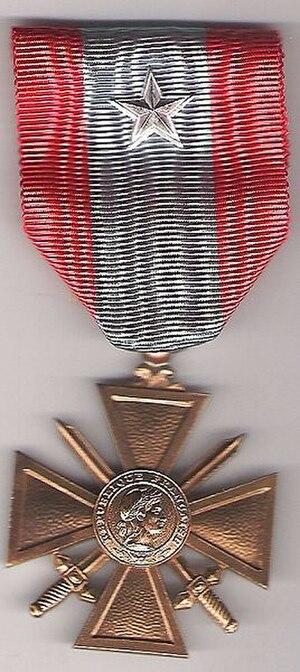 43rd Infantry Regiment (France) - Image: Croix de guerre des théâtres d'opérations extérieurs (France)