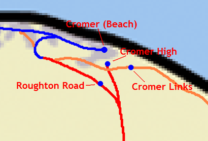 How to get to Cromer Beach with public transport- About the place