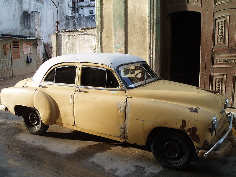 File:Cuban style car.JPG