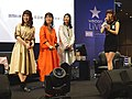 Cuisine Dimension voice actresses and the hostess standing 20190414a.jpg