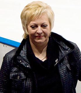 Russian ice dancing coach