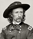 Custer Portrait Restored