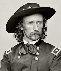 Retrach de George Armstrong Custer
