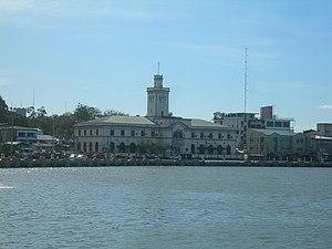 Port of Iloilo - Customs House on the Iloilo River, Iloilo City, the Philippines