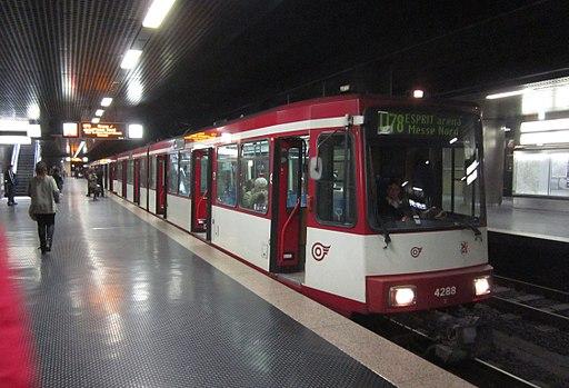 Düsseldorf Stadtbahn