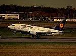 D-ABIE Boeing 737-530 Lufthansa at Berlin-Tegel April 2012 (7100057505).jpg