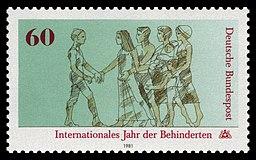 DBP 1981 1083 Internationales Jahr der Behinderten