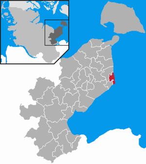 Dahme, Schleswig-Holstein - Image: Dahme in OH