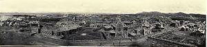 Russian Dalian - Dalniy panorama around 1903.