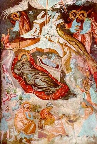 Ubisi - Image: Damiane. The Nativity