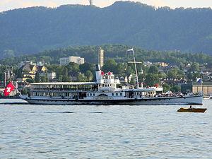 Dampfschiff Stadt Zürich - Felsenegg - Wollishofen - Hafen Riesbach 2012-05-28 19-16-27 (P7000).JPG