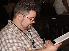 Description de l'image Dan Brereton at Super-Con 2009 1.JPG.