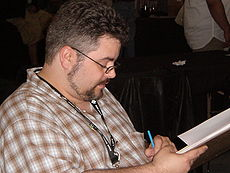 Dan Brereton at Super-Con 2009 1.JPG