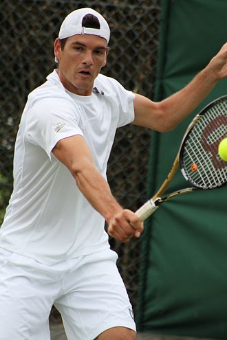 Frank Dancevic - At qualifying for the 2014 Wimbledon Championships